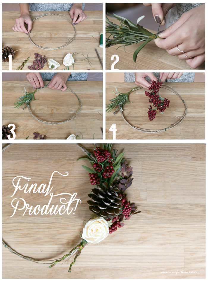 DIY Holiday Wreath with Delight Floral Tutorial