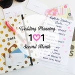 Wedding Planning 101 :: Second Month