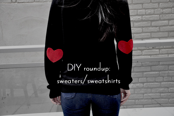 DIY Sweater and Sweatshirts