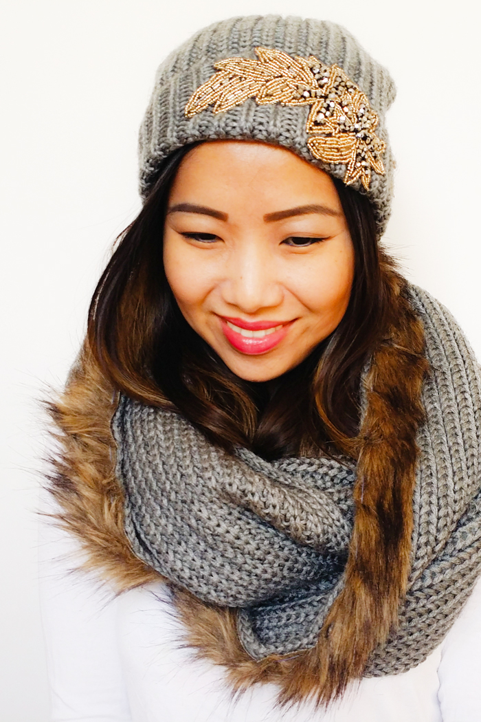 Joe Fresh DIY Scarf and Toque Set
