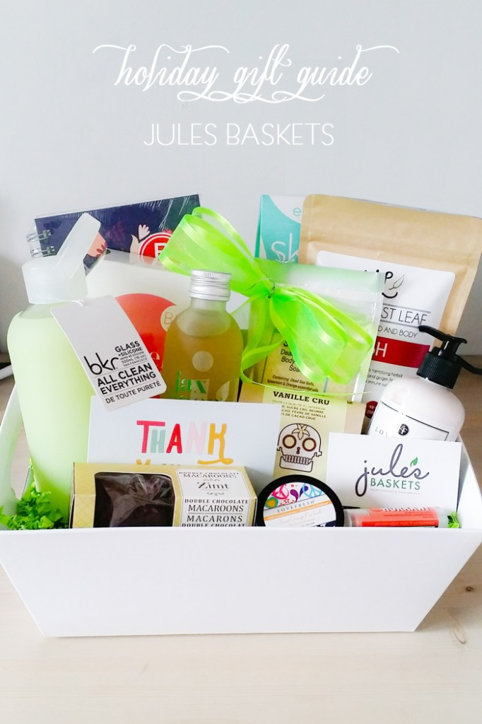 Holiday Gift Guide :: Jule's Baskets