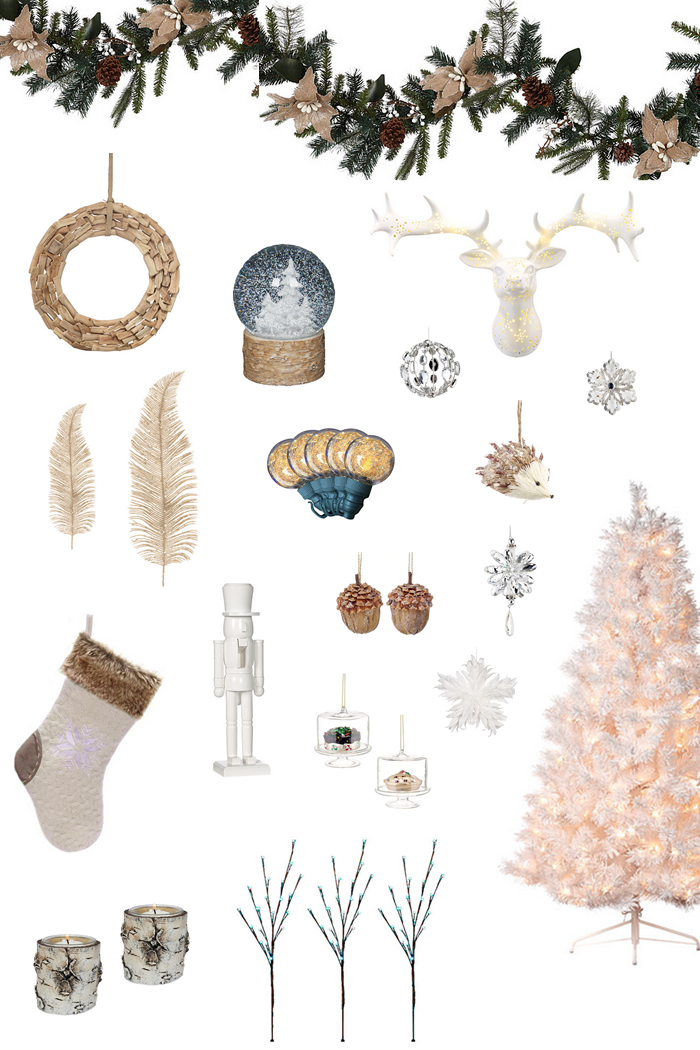 Christmas Holidays Decorating - White Themed with RONA