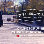 Hudson's Bay Online Pop Up Store Sale Discount