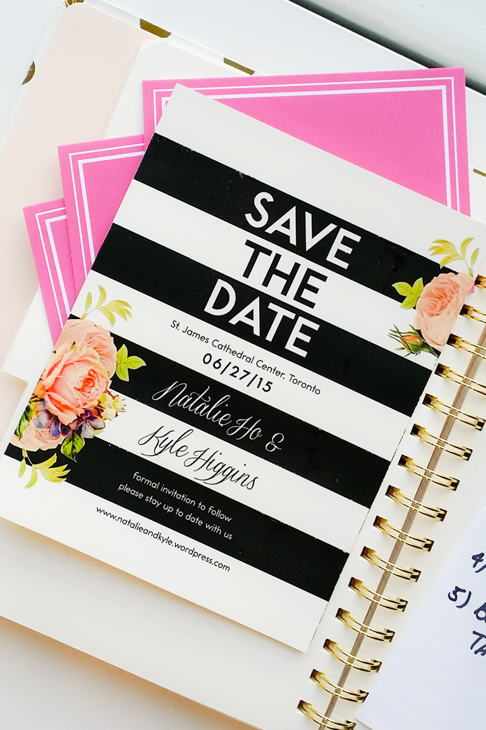 Wedding Planning 101 - Save the Date, Love Love Me Do Custom Wedding Invites