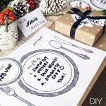 DIY :: Reusable Table Setting Placemats