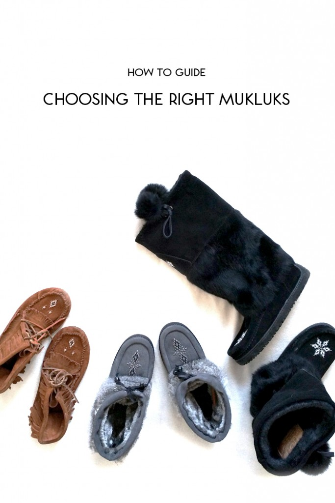 How To Guide :: Choosing the Right Mukluks