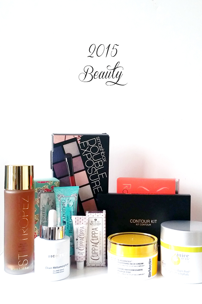 Top Beauty Products 2015