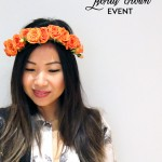 You're Invited :: Joe Fresh DIY Floral Crown Event