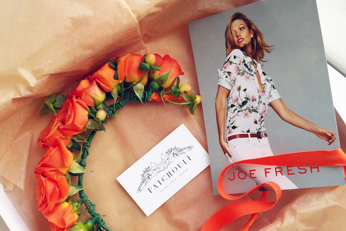 Joe Fresh DIY Floral Crown Event with My Little Secrets 2