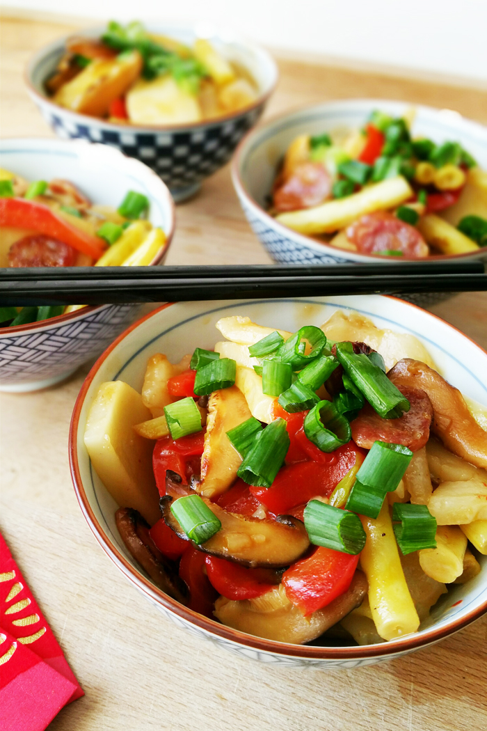 Lobalws - Chinese New Year Rice Cake Pasta Recipe