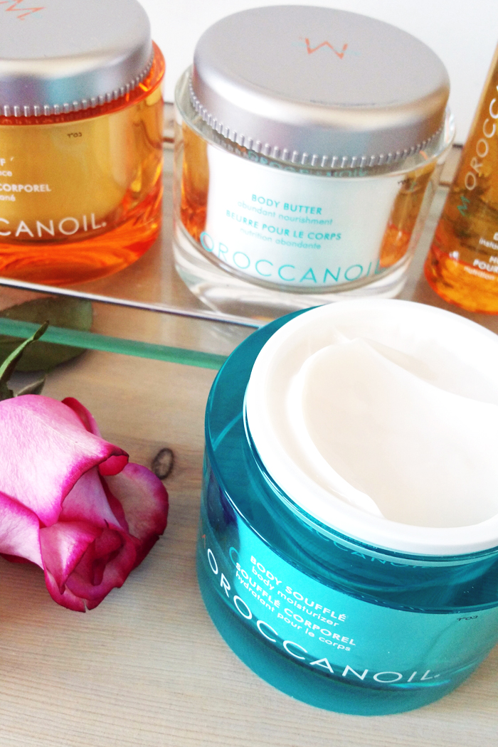 Moroccan Oil Spa Day - Body Souffle