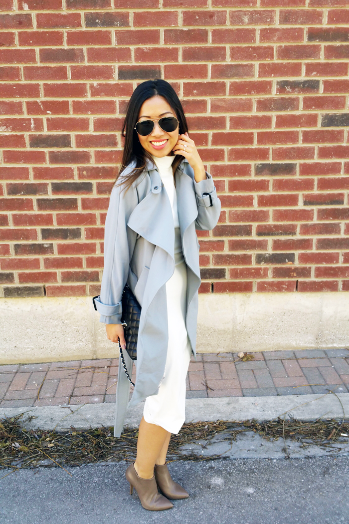 le chateau booties spring outfit 1