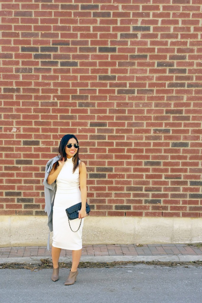 le chateau booties spring outfit