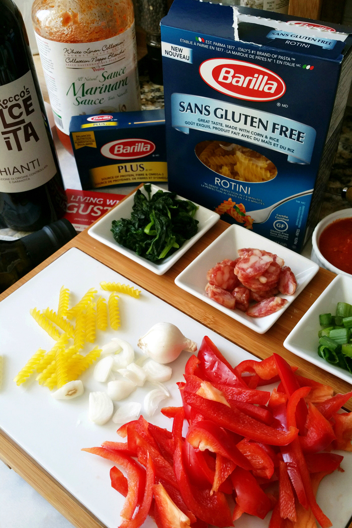 Barilla cooking with Gusto Recipe