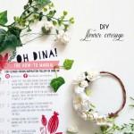 Oh Dina DIY Flower Crown or Corsage Kit