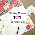 Wedding Planning 101 :: Two Months Left!