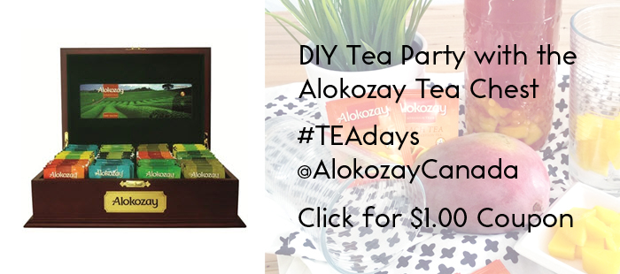 Alokozay Tea tea chest