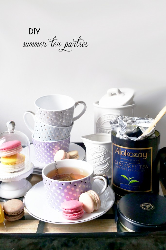 DIY Summer Tea Parties #TEAdays