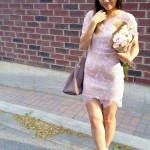 Outfit :: Pink Lace(s) {Le Chateau Shoe Pick}