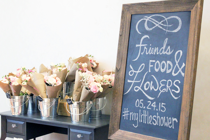 Bridal Shower DIY Flower Bouquets