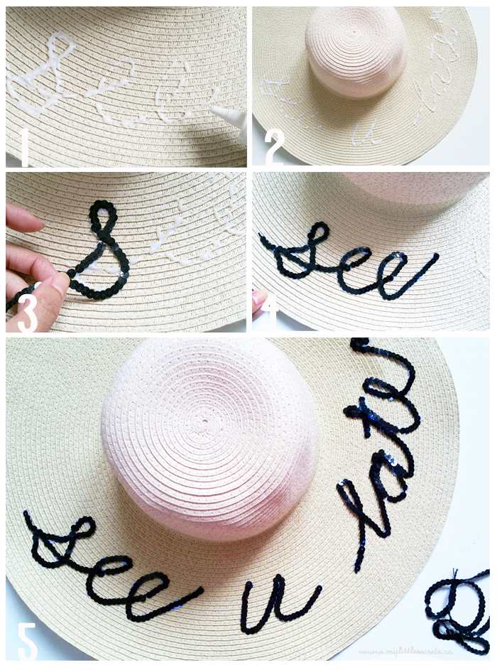 DIY Summer Hat Tutorial