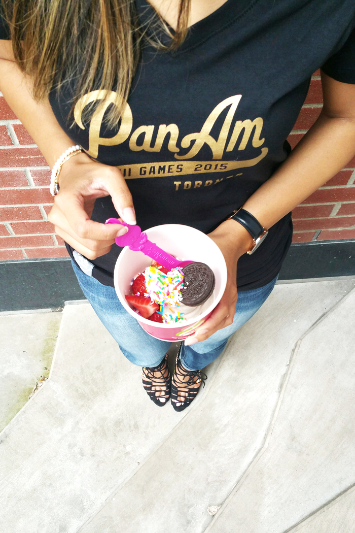 Pan Am Games T-shirt Menchies Oreo