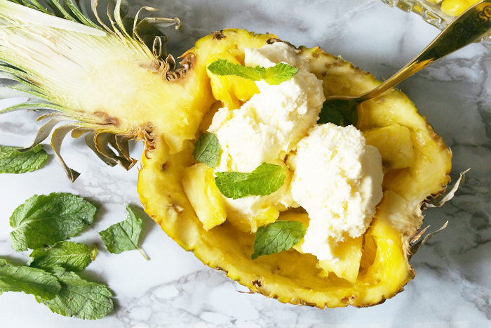 Pineapple Split