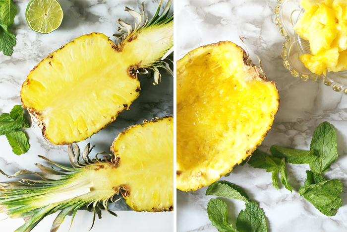 Pineapple Split How To