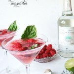 Food & Drink :: Pink Berries Basil Margaritas