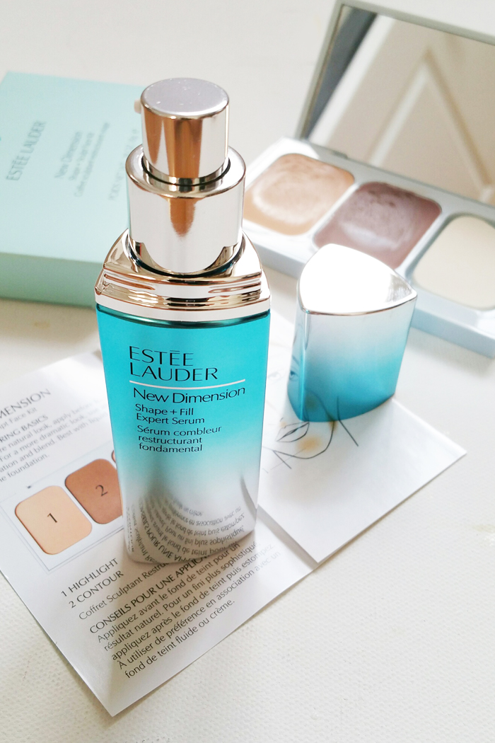 Estee Lauder New Dimension Shape and Fill Serum Review 2