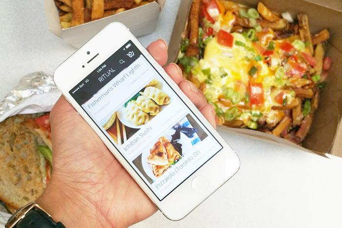 My Ritual Toronto, Food Order App