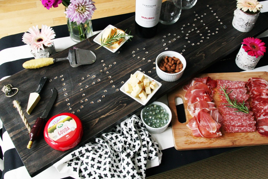 DIY Charcuterie Board Marquee Sign Varathane