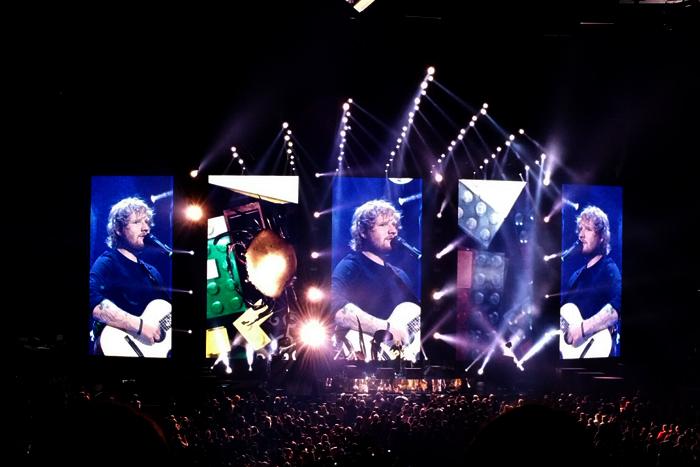 Ed Sheeran American Expresss 1