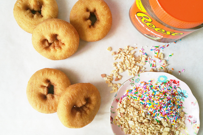 Reese Spread DIY Donuts Ingredients