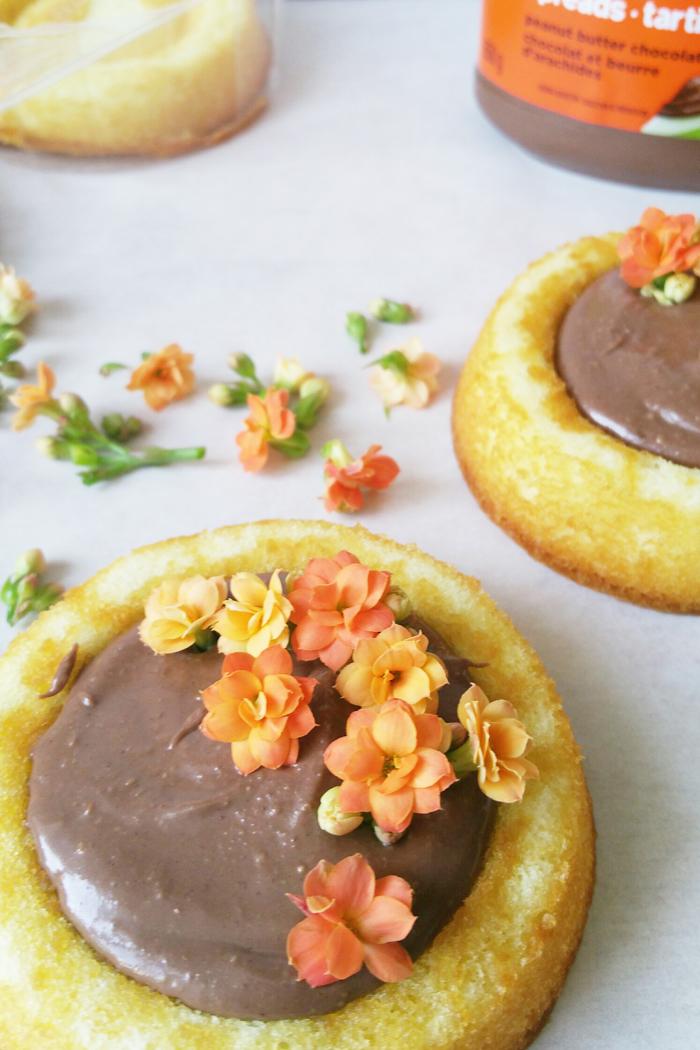 Reese Spread DIY floral cake 4