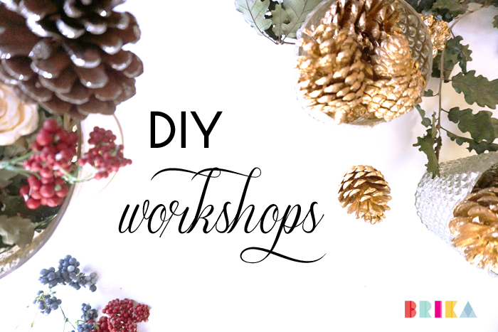 BRIKA Christmas Holiday DIY Workshop