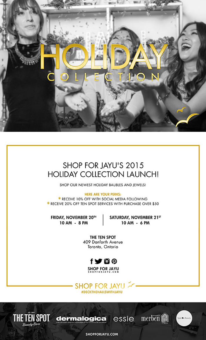 Shop For Jayu Holiday Shopping Invite