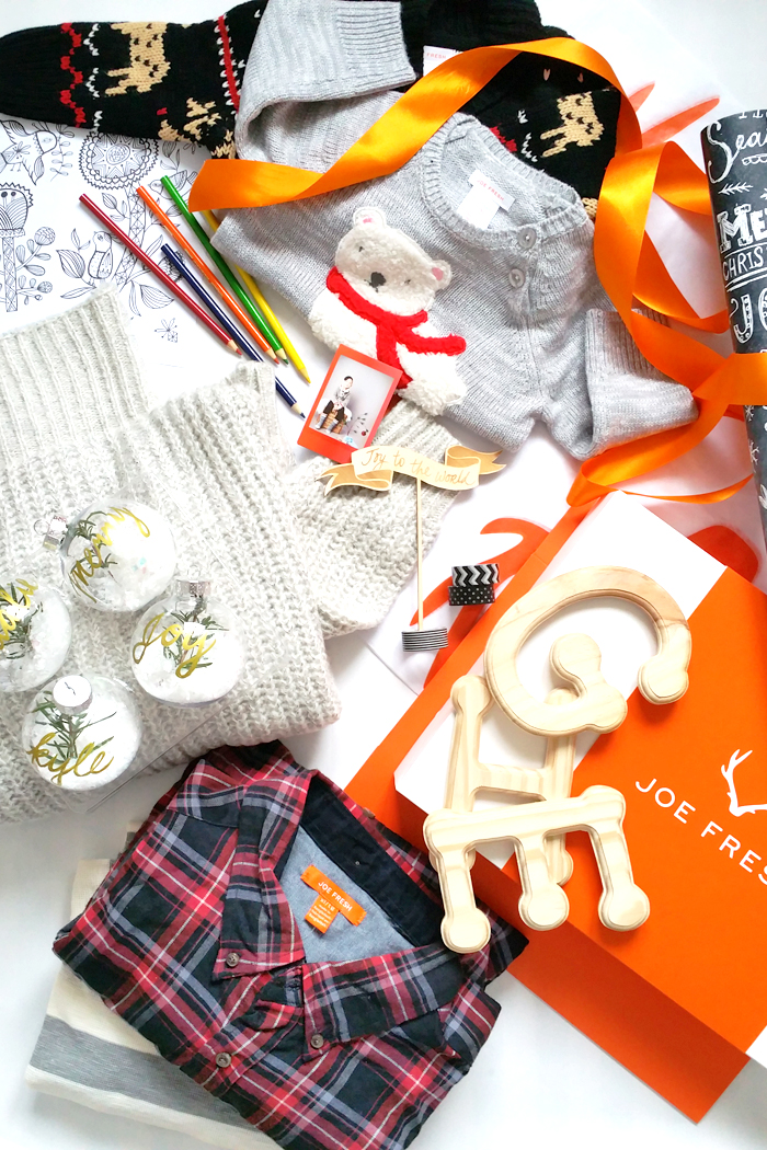 Joe Fresh Holiday Gift Wrap