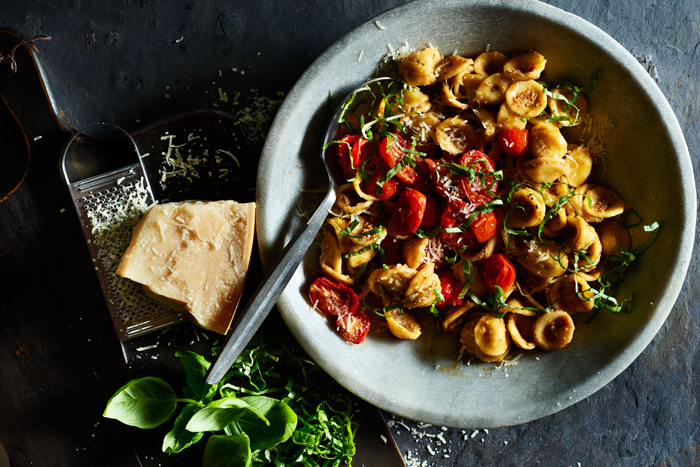 Orecchiette with Roasted and Sundried Tomatoes