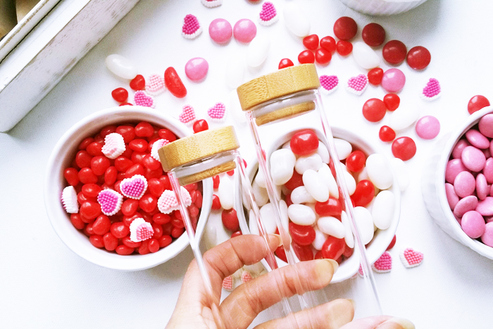 Valentines Test Tube Candy Gift Favors 2