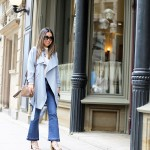 Outfit :: Flared Denim and Lace Ups