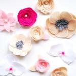 DIY :: Spring Felt Flowers
