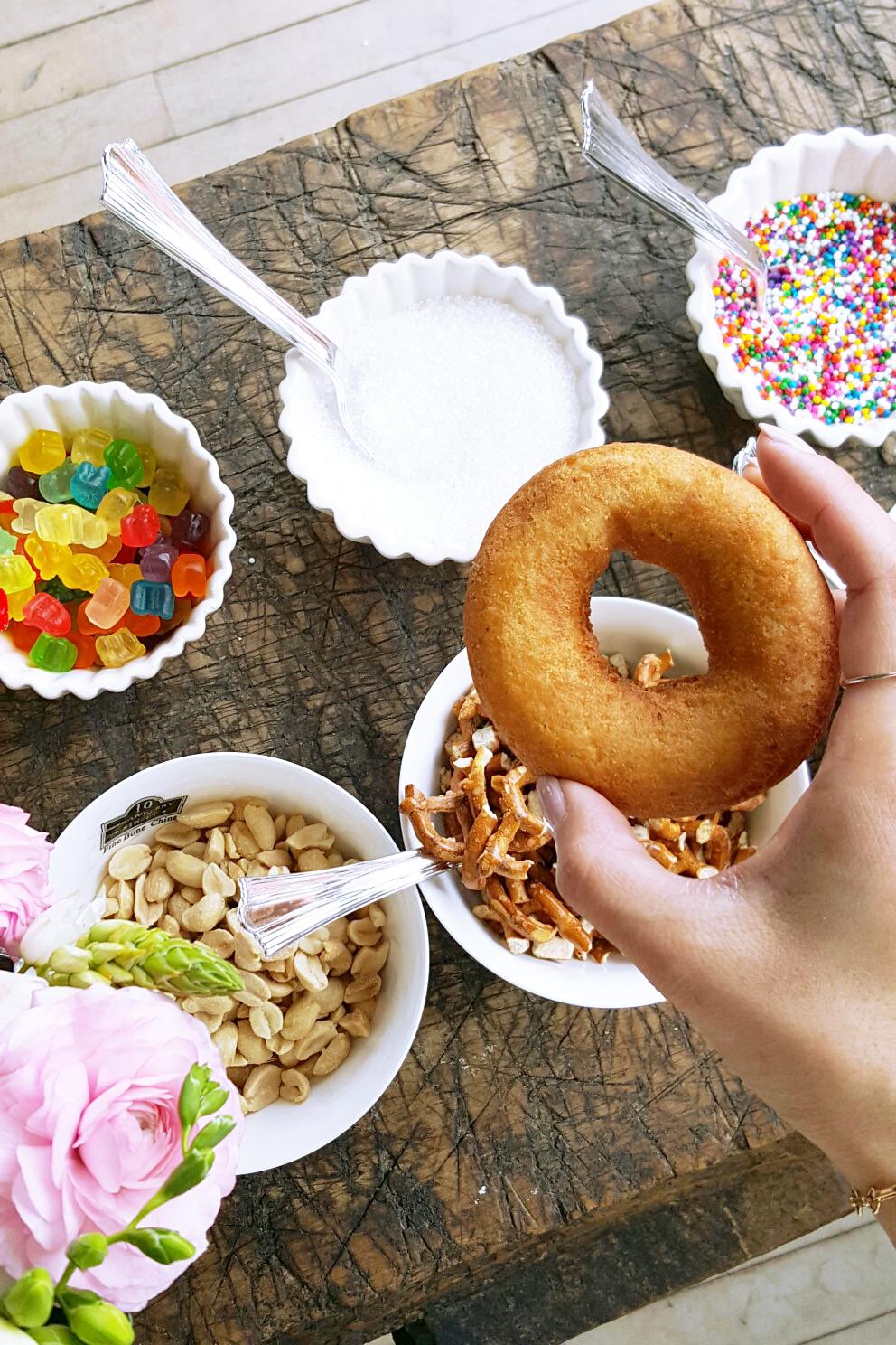 DIY Doughtnut and Mimosa Bar