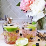 Food & Drink :: Black-Currant Lime Mocktails