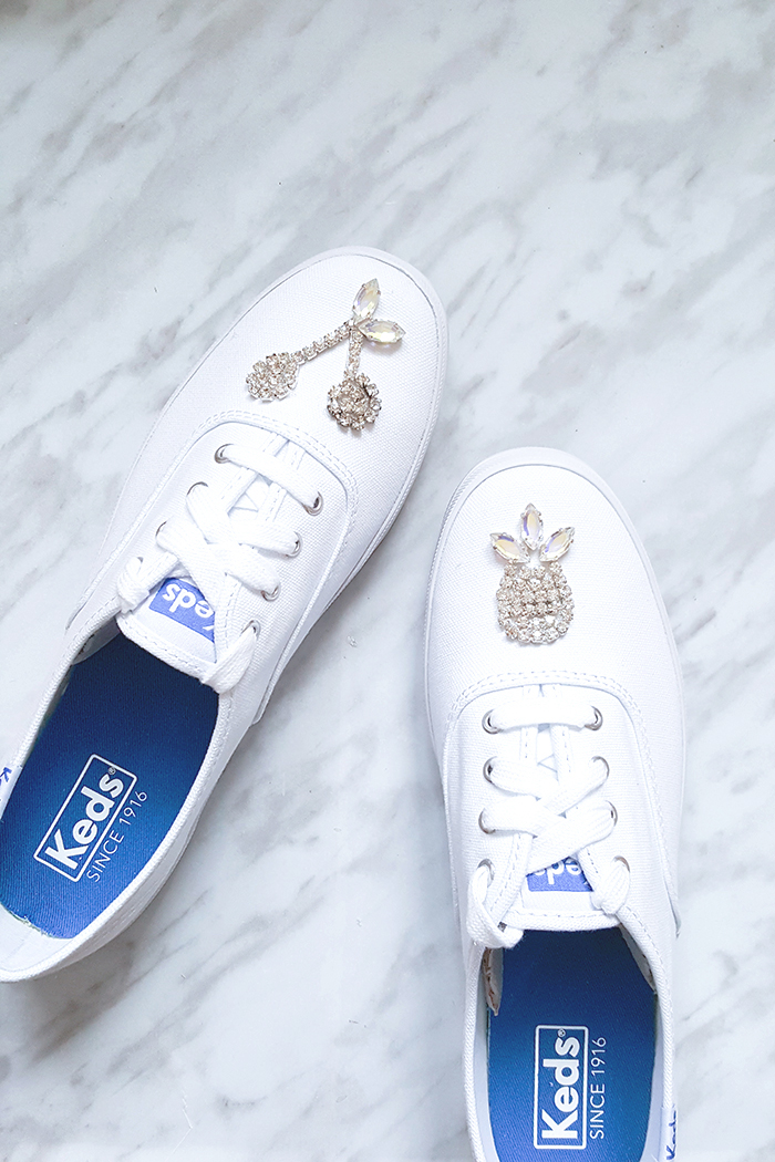 Final DIY Rhinestone Summer Keds 1