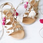 DIY Tassel Gladiator Sandals Le Chateau 2