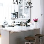 White and Grey Kitchen Renovation