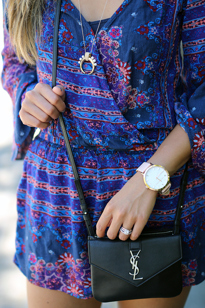 Purple Romper_YSL mini_christian paul watch