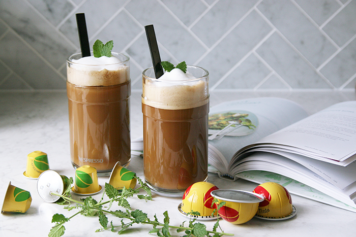 nespresso iced mint coffee tinto 1