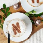 Food & Drink :: DIY Monogram Latte Art